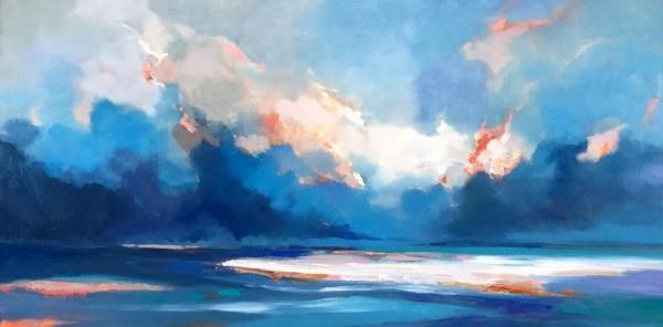 Jinsheng Artwork Cloudy Sky 135 Original Painting