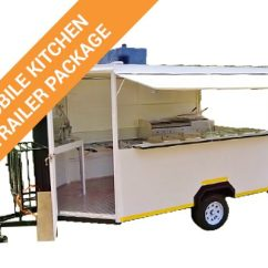 Kitchen Trailer Timer Mobile Absolute Catering Equipment Package