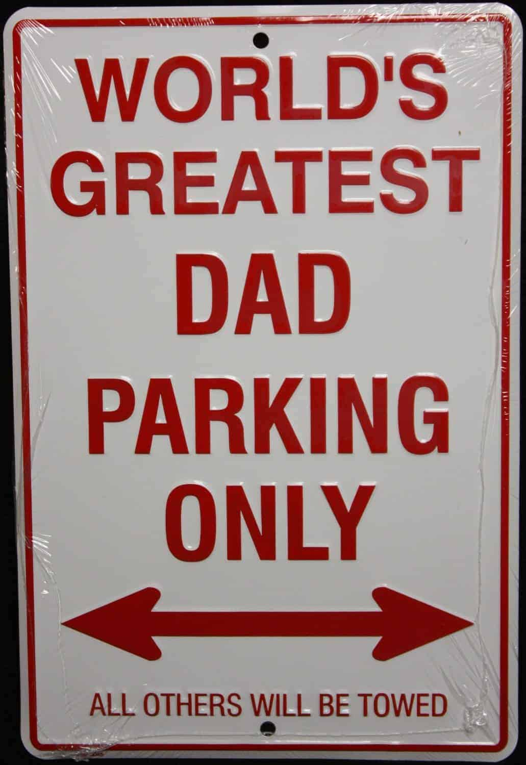 Worlds Greatest Dad Parking Only Absolute Christmas