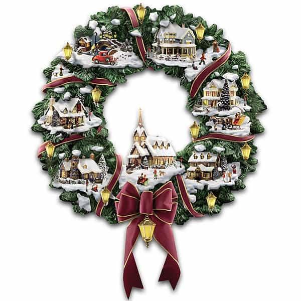 Top 9 Thomas Kinkade Christmas Decorations 2017 Absolute