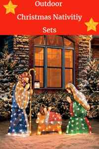 Top 12 Outdoor Christmas Nativity Sets  Absolute Christmas