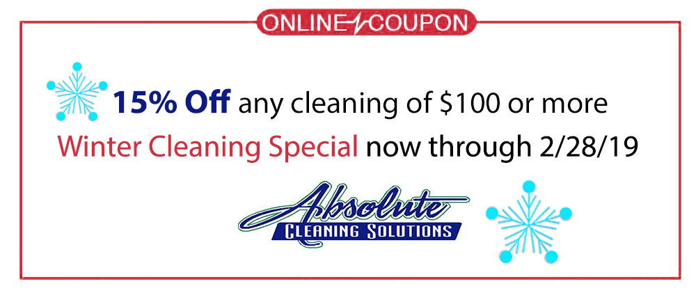 Absolute Cleaning Solutions Coupon