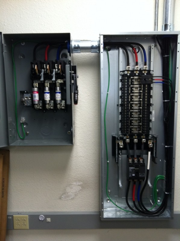 Disconnects Transformers Control Panels And Mini Circuit Breakers