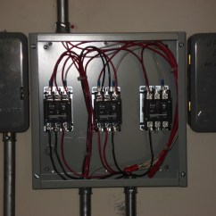 Wiring A Time Clock And Contactor Mercury Outboard Harness Diagram Commercial Absolute Electric