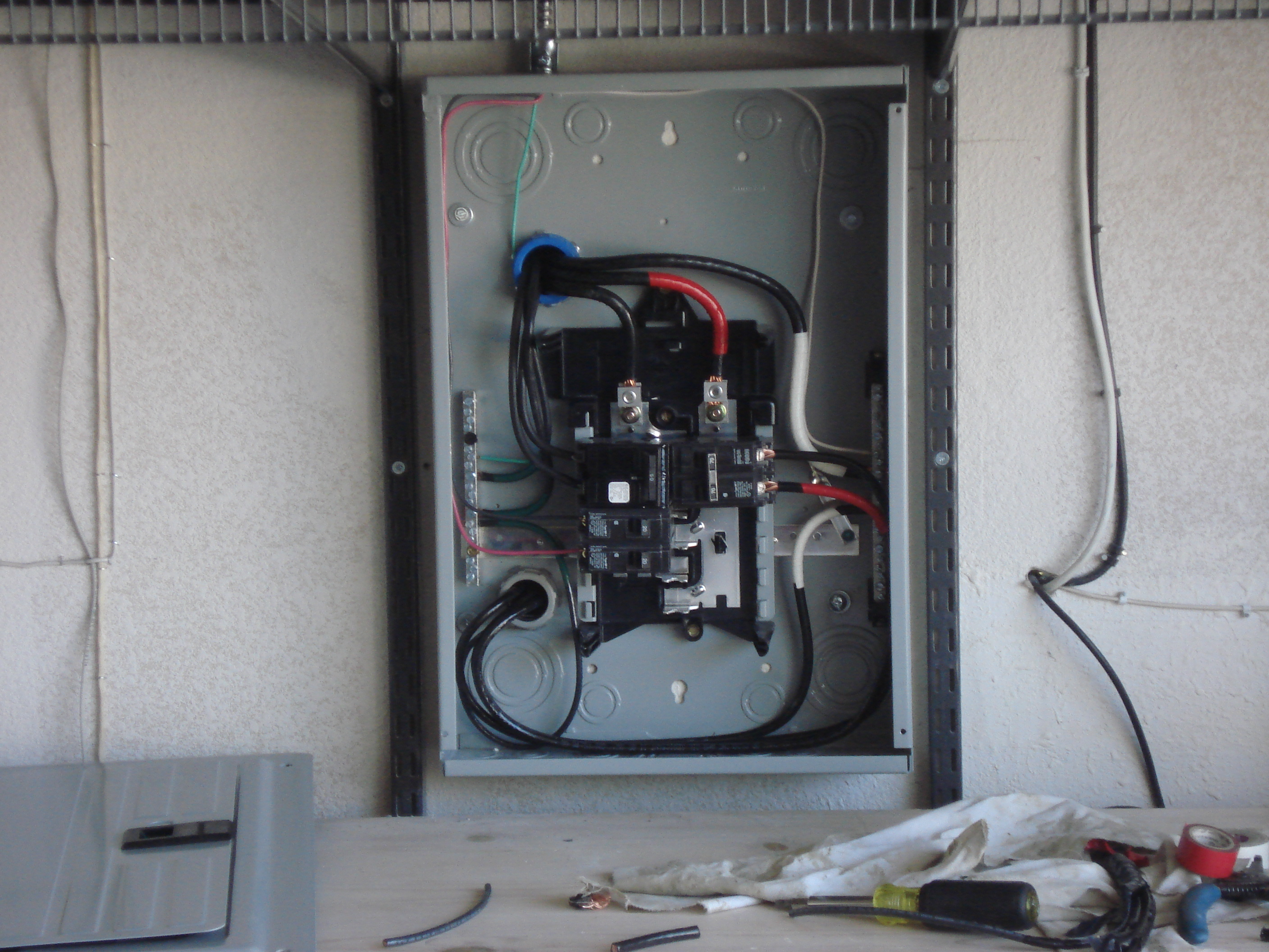 Amp Meter Wiring Diagram For Installation Residential Absolute Electric