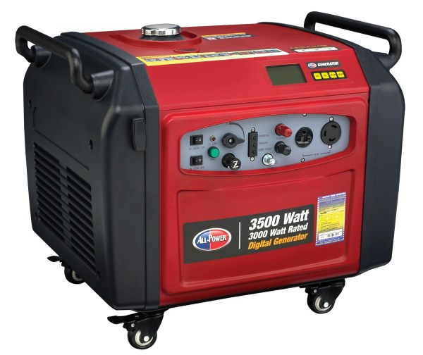 Power America Apg3106 3500w 196cc Portable Generator