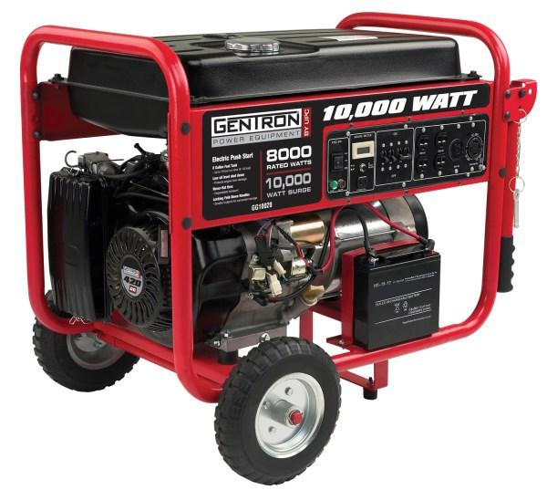 Gentron Portable Generator - Gg10020-p8 10000 Watt 8 Units