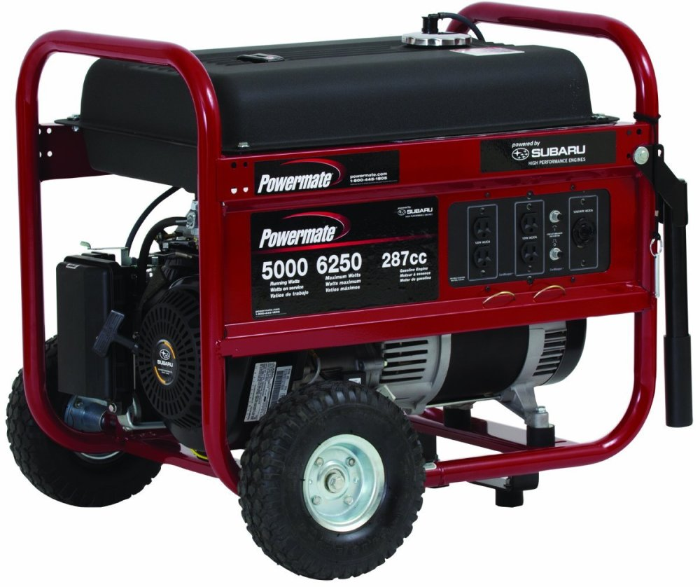 medium resolution of powermate portable 6250 watt gasoline generator with manual start pm0435005 powermate portable generator pm0435005 6250 watt subaru at cita asia