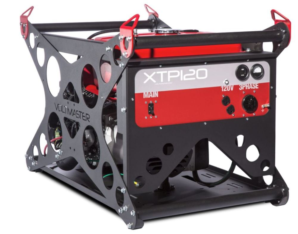medium resolution of voltmaster portable 3 phase generator xtp120eh240 11 5 kw 139 240 volt honda powered