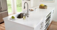 Pure White Quartz Countertops | www.imgkid.com - The Image ...