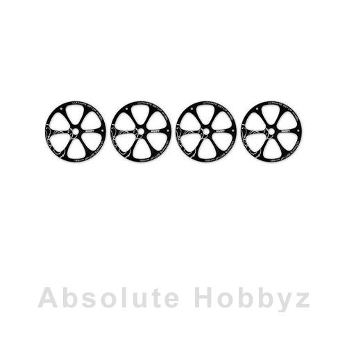 Hudy Aluminum Set-Up Wheel (1/8 Off-Road) (4)
