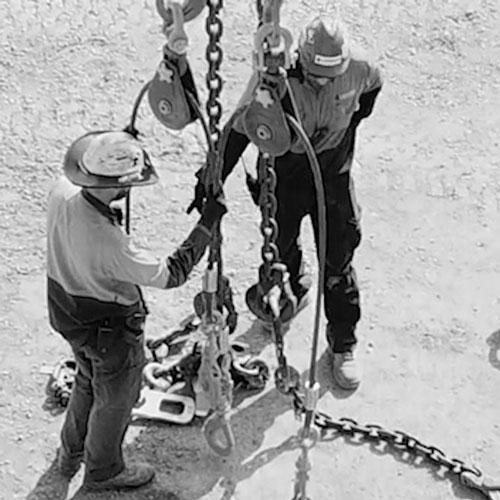 Garde 100 Chain Lifting and Safety Equipment