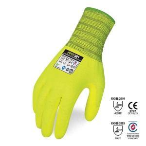 Bi-Polymer Cut Resistant Hi-Vis