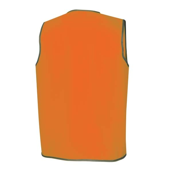 Day Safety Vest - Orange back