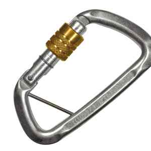 Steel Screw Gate Karabiner VCT A428TOZO