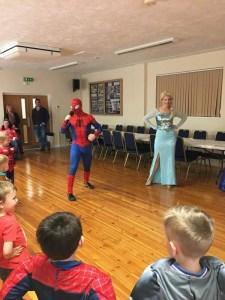 Spider Man and Elsa Nottingham | Derby | Leicester