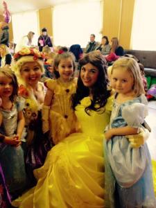 Belle Princess Party Nottingham Derby Leicester