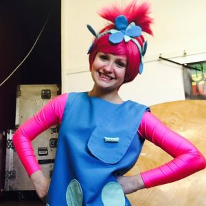 Poppy Troll Party Entertainer