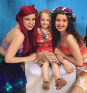Moana and Ariel | Party Entertainer | Mansfield