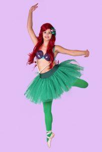 Ariel Little Mermaid Ballet Party