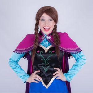Princess Anna Frozen Mascot Hire
