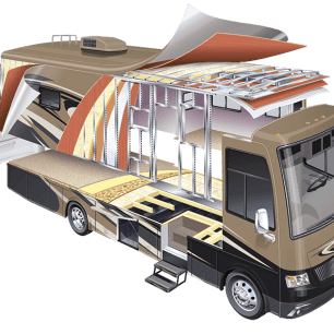 Cool Motorhome RV Construction  Absolute Rescue