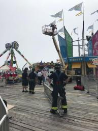 Moreys Surfside Pier for a technical rescue (1)