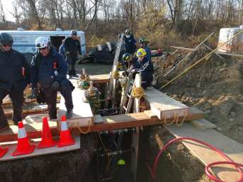 Hunterdon County Emergency Services Training Center Trench Training (3)
