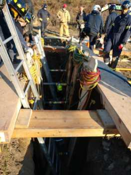 Hunterdon County Emergency Services Training Center Trench Training (6)