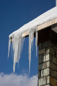 Snow and Ice Damage - Roof Repair