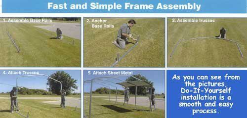 Do It Yourself Metal Carport Installation Instructions