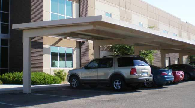 Commercial Carports Full Cantilever Design