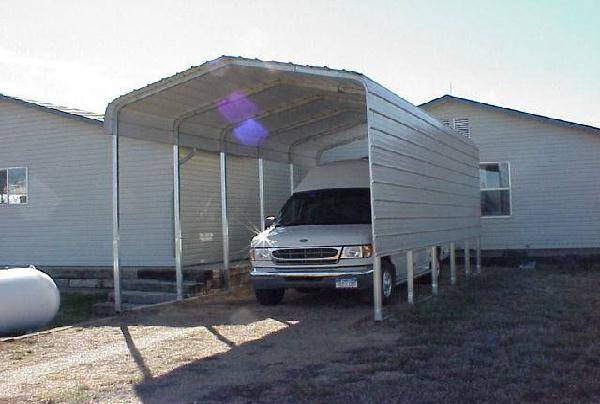 One Side RV Cover With Extra Panels