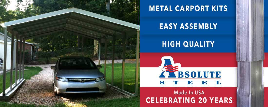 Carport Kits And Metal Carports Made In The Usa