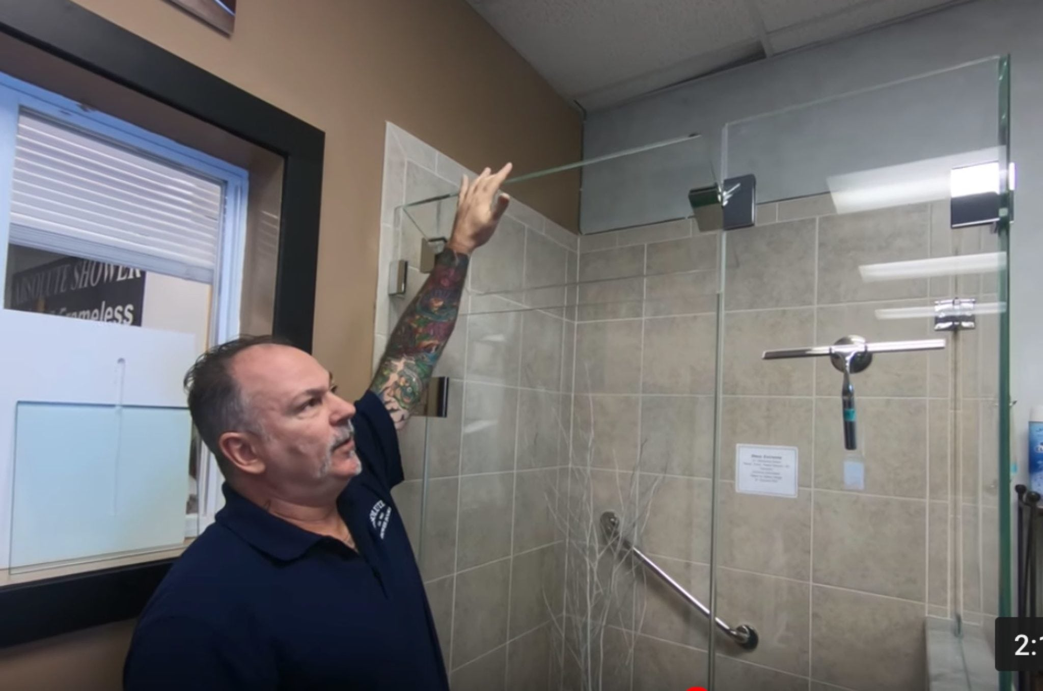 Clear Glass Vs Starphire Glass Absolute Shower Doors