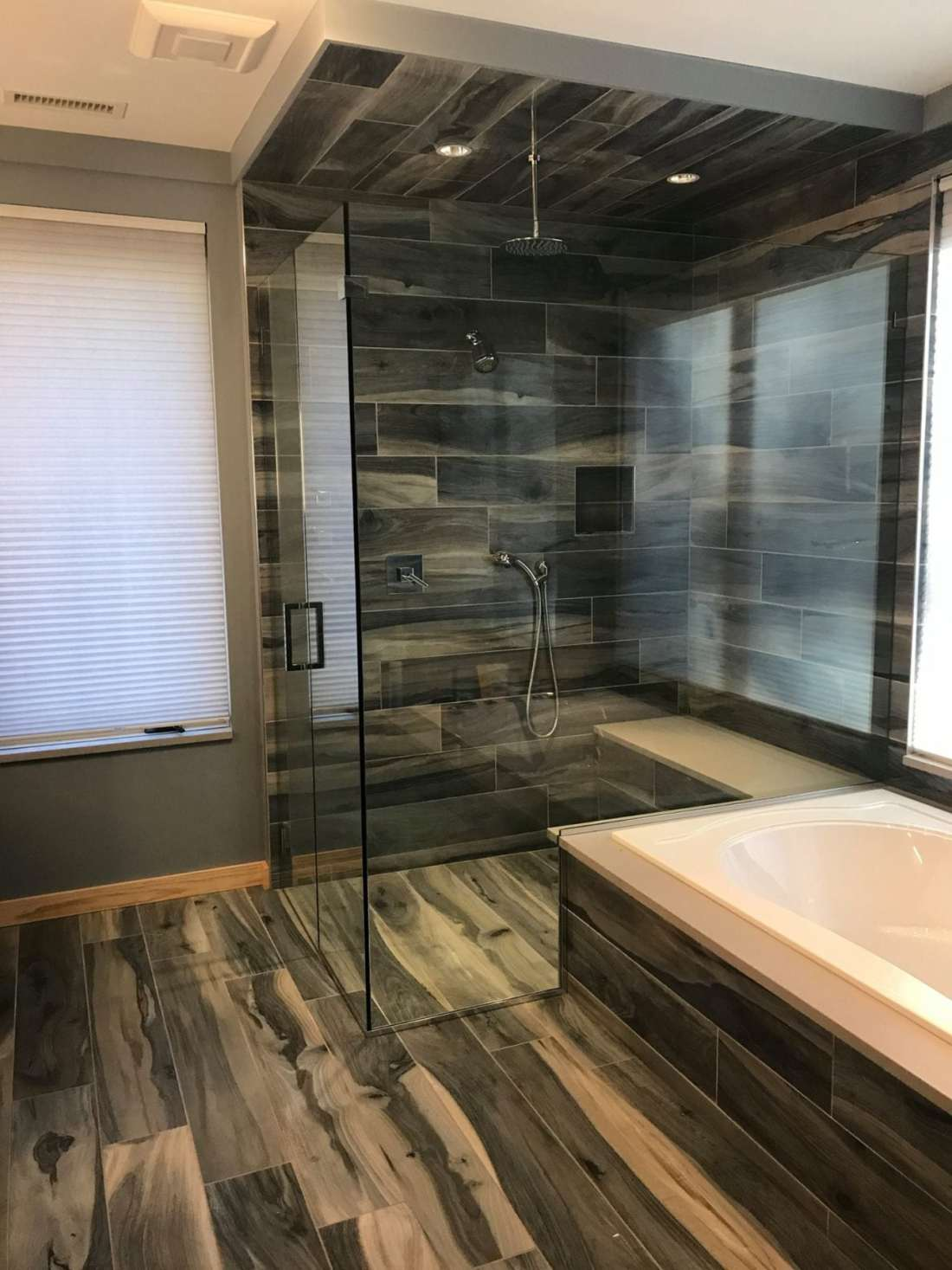 Absolute shower doors the best in custom glass shower doors since 1995 frameless shower door notched for tub deck planetlyrics Gallery