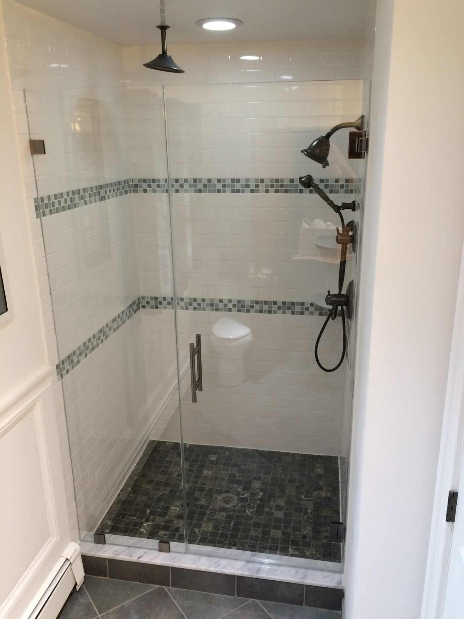 Door and Panel Shower Enclosure