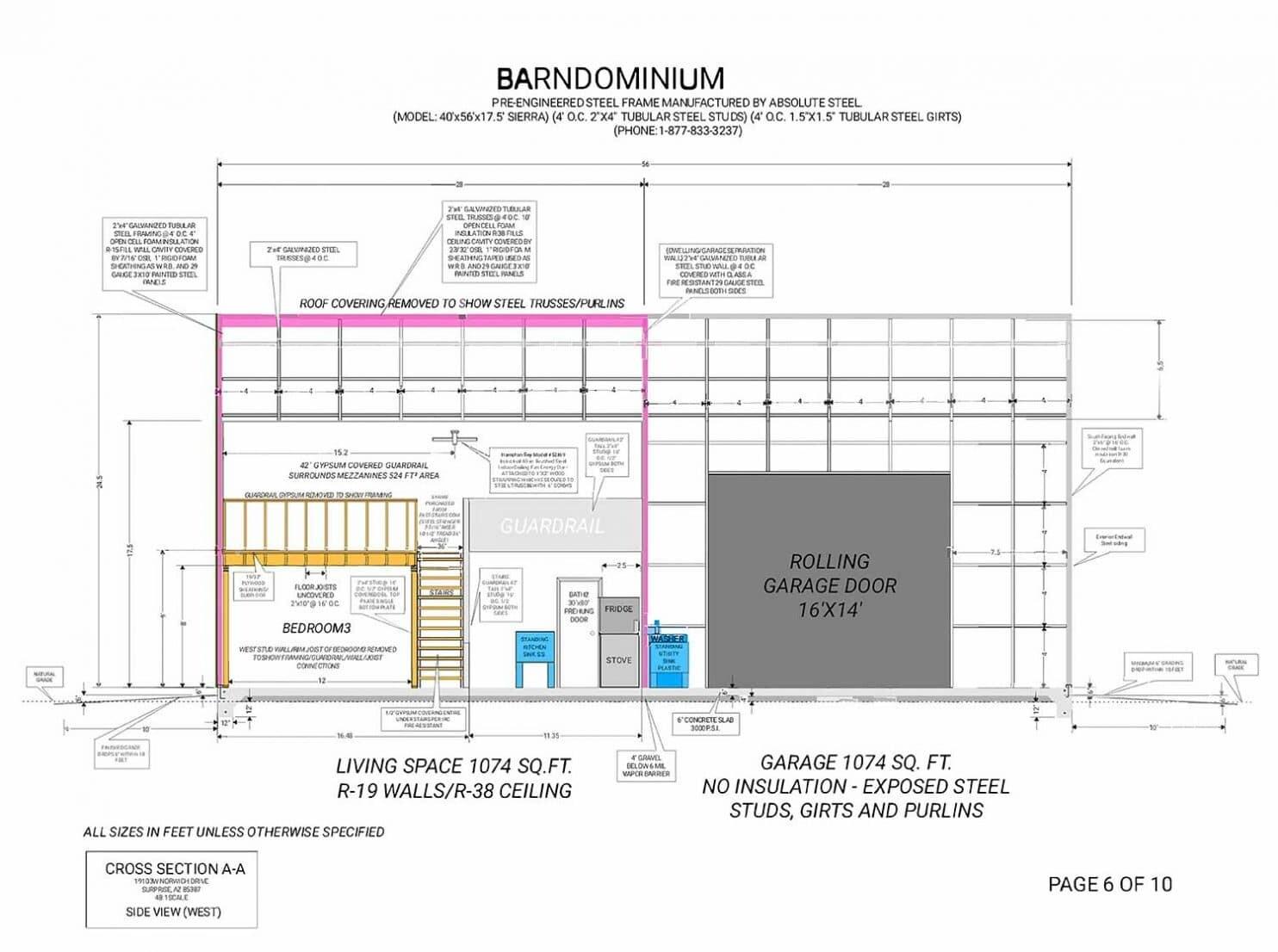 Barndominium : Combination Barn and Condominium