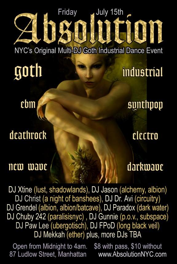 Absolution-NYC-Goth-club-flyer-july 15th