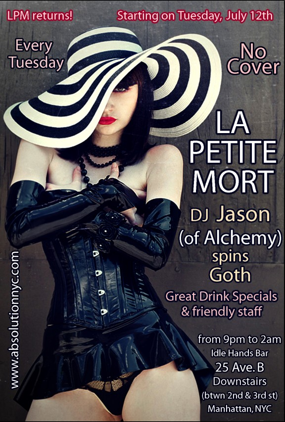 NYC Goth Club - La Petite Mort Idle Hands