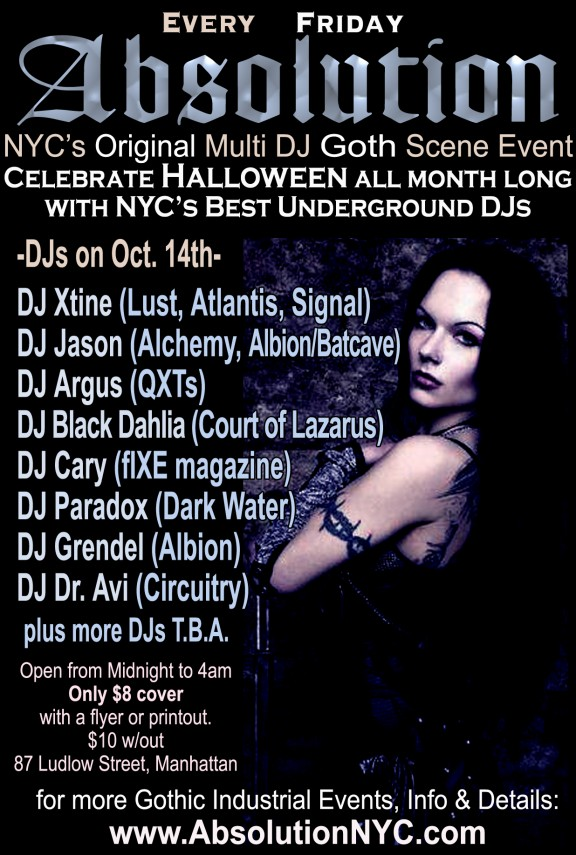absolution-NYC-goth-club-flyer-poster-october