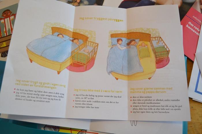 Bare man tar visse forhåndsregler så. Men den babyen, den vil kanskje ligge inntil?