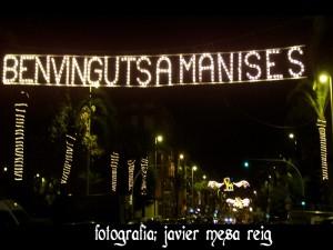 Iluminacin Navidea en Manises