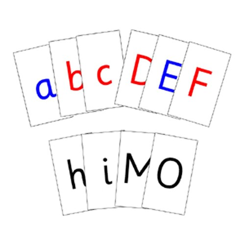 Montessori Printed Alphabet Cards .Pdf