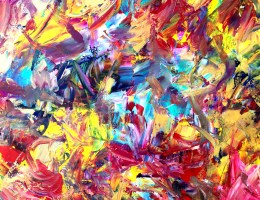 Abstraction in Art by Estelle Asmodelle