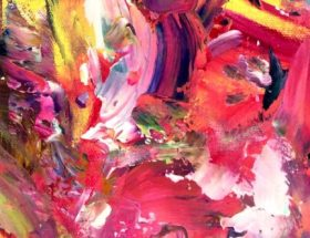 Abstract Expressionism Artist by Estelle Asmodelle