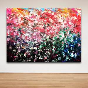 Forever Bloom - Abstract Expressionism by Estelle Asmodelle