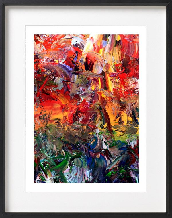 Consequence of climate change - fine art Giclée print