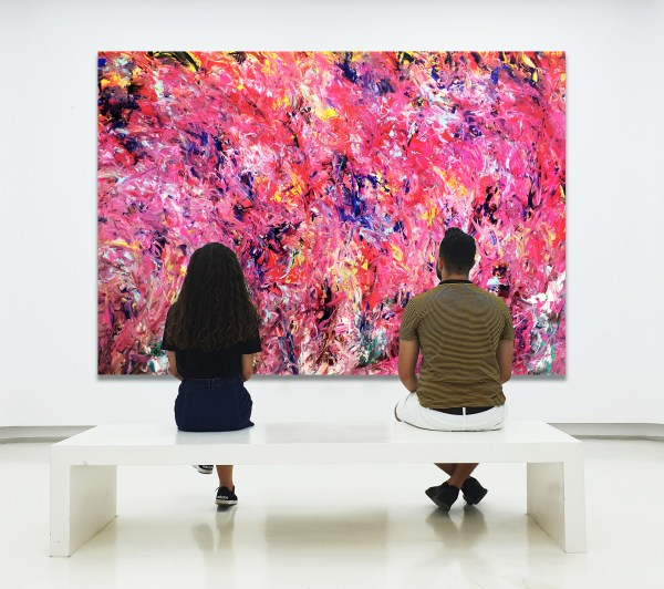 Journey to Elysium - Abstract Expressionism by Estelle Asmodelle