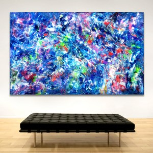 Alien Species Redux - Abstract Expressionism by Estelle Asmodelle
